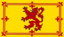 "SCOTLAND (LION) - 18"" X 12"" FLAG"